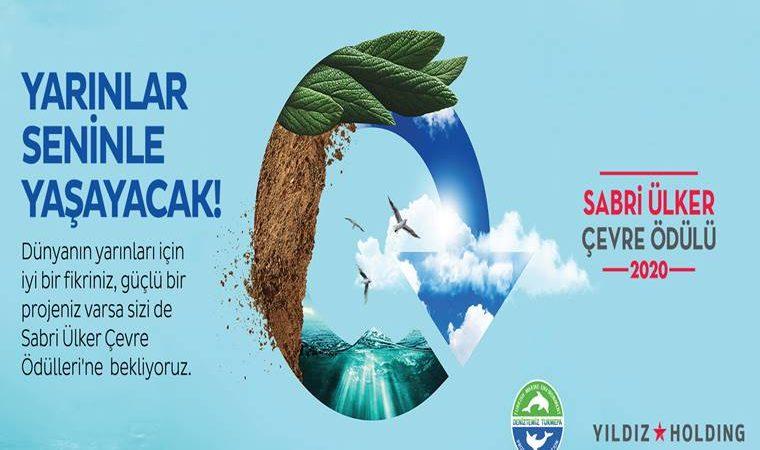 Sabri Ülker Çevre Ödülü 2020 duyuru görselidir.