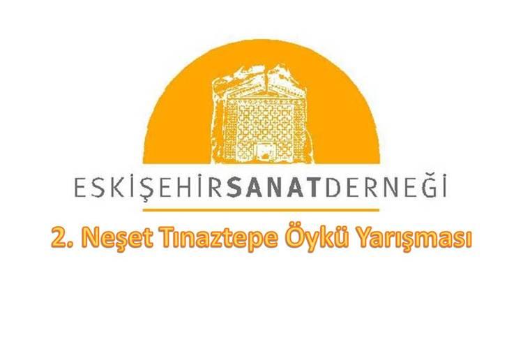 2. Neşet Tınaztepe Öykü Yarışması duyuru görselidir.