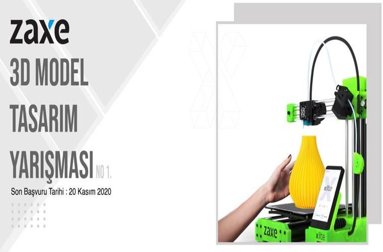 Zaxe 3D Model Tasarım Yarışması