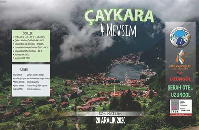 Çaykara Belediyesi Ulusal Fotoğraf Yarışması