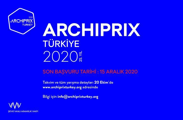 Archiprix Türkiye 2020 Mimari Proje Yarışması