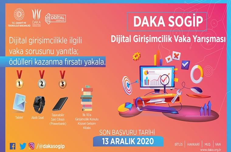 DAKA SOGİP Dijital Girişimcilik Vaka Yarışması