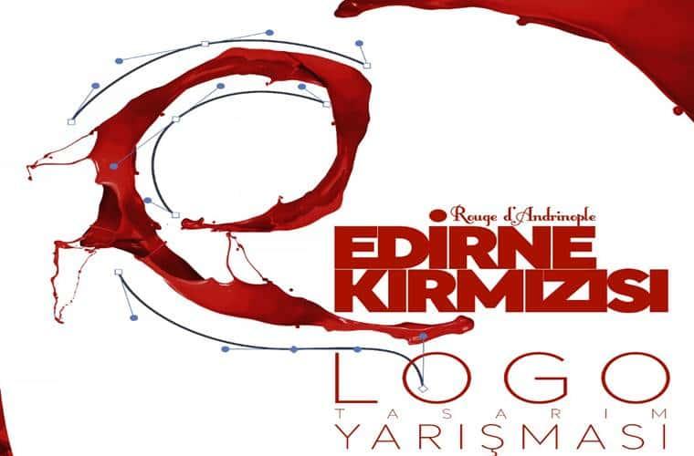 Edirne Kırmızısı Logo Yarışması