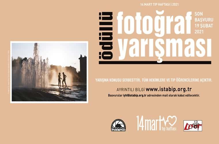 14 Mart Tıp Haftası Ödüllü Fotoğraf Yarışması duyuru görselidir.