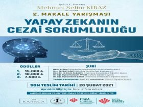 Mehmet Selim Kiraz Anısına Makale Yarışması duyuru görselidir.
