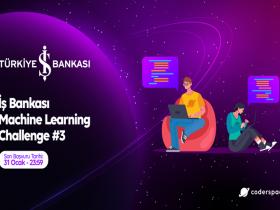 Türkiye İş Bankası Machine Learning Challenge duyuru görselidir.