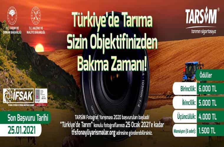 TARSİM Ulusal Fotoğraf Yarışması