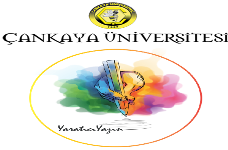 Çankaya Üniversitesi İngilizce Yaratıcı Yazın Yarışması duyuru görselidir.