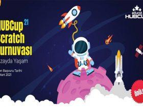 Educat HUBCup Scratch Kodlama Yarışması duyuru görselidir.