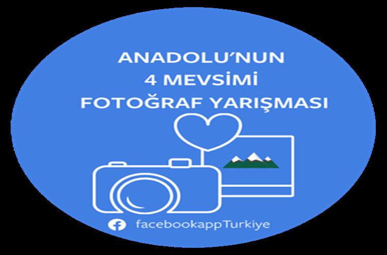 Facebook 4 Mevsim Fotoğraf Yarışması duyuru görselidir.