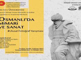 Osmanlı'da Mimari ve Sanat Konulu Ulusal Fotoğraf Yarışması duyuru görselidir.