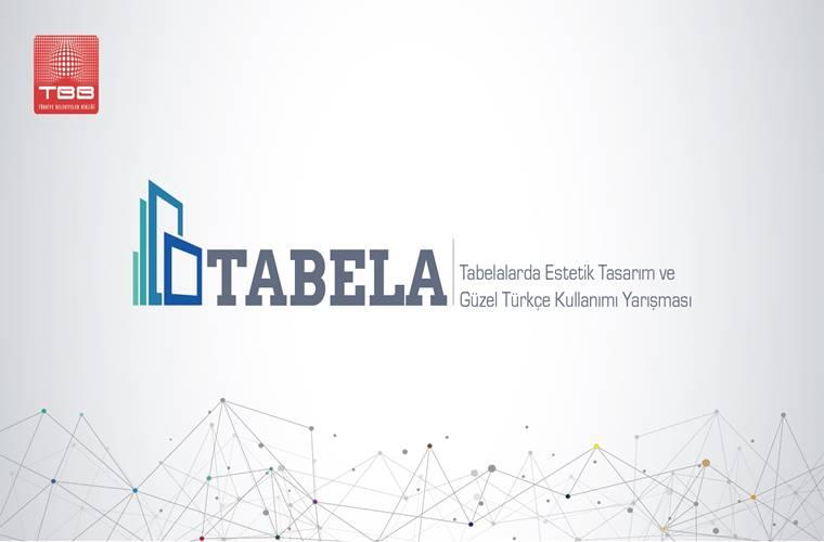 Türkiye Belediyeler Birliği Tabela Yarışması duyuru görselidir.