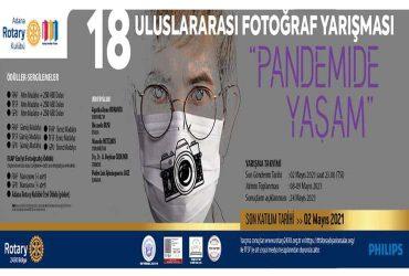Adana Rotary Kulübü Uluslararası Fotoğraf Yarışması duyuru görselidir.