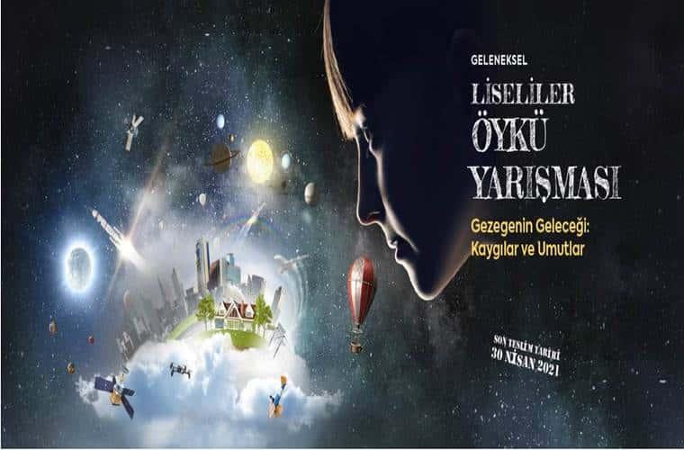 Kapadokya Üniversitesi Öykü Yarışması duyuru görselidir.