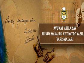 TBB Avukat Atila Sav Tiyatro Yazıları Yarışması duyuru görselidir.