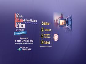 Tuzla Belediyesi Ulusal Kısa Film Yarışması duyuru görselidir.