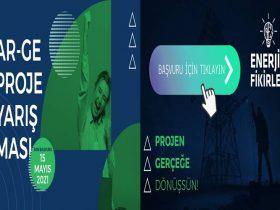Enerjik Fikirler Ar-Ge Proje Yarışması duyuru görselidir.